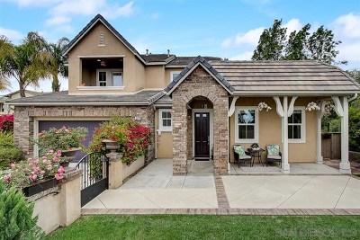 Carlsbad Single Family Home For Sale: 3466 Corte Fresa