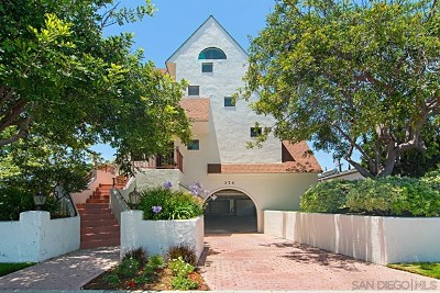 Coronado Condo/Townhouse For Sale: 374 Orange Ave #D