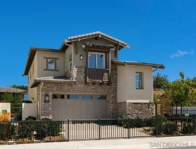 Carlsbad Single Family Home For Sale: 3058 Villeta Avenue #Lot 15