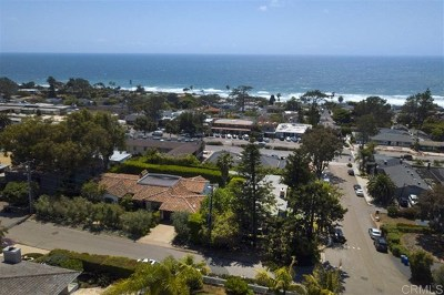 Del Mar Single Family Home For Sale: 327 12th St