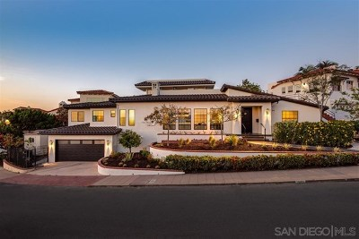 San Diego Single Family Home For Sale: 2484 Presidio Drive