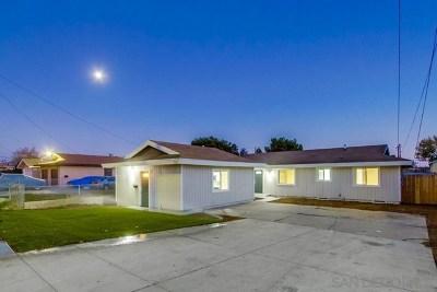 Chula Vista Multi Family Home For Sale: 127 Oxford St