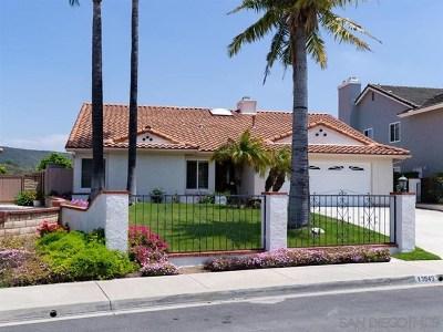 San Diego Single Family Home For Sale: 13943 Mennonite Pt
