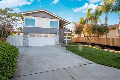 Encinitas Single Family Home For Sale: 138 Cerro