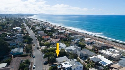 Cardiff by the Sea Single Family Home For Sale: 1380 Summit Ave