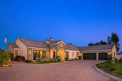 Encinitas Single Family Home For Sale: 1403 Rainbow Ridge Lane