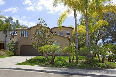 Carlsbad Single Family Home For Sale: 2851 Rancho Cortes