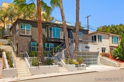 San Diego County Multi Family Home For Sale: 3524 Wilshire Terrace