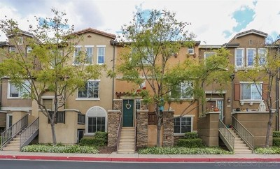 San Diego County Condo/Townhouse For Sale: 10114 Little Leaf Ln