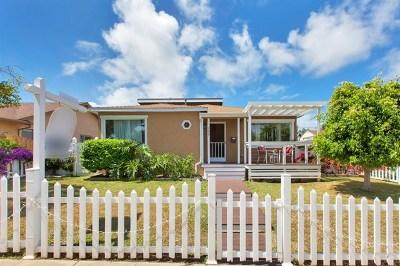 San Diego Single Family Home For Sale: 4627 Castelar