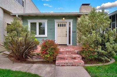 Coronado Single Family Home For Sale: 435 C Avenue