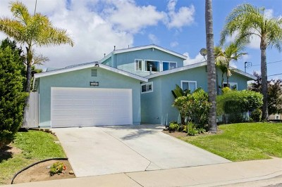 San Diego Single Family Home For Sale: 3353 Baltimore St