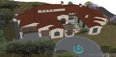 San Diego Single Family Home For Sale: 8141 Caminito Santaluz Sur