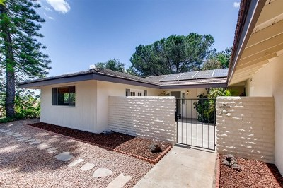 Escondido Single Family Home For Sale: 28214 Red Stone Lane