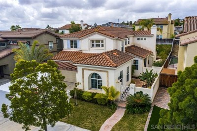 Chula Vista Single Family Home For Sale: 1556 Picket Fence Dr
