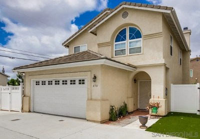 El Cajon Single Family Home For Sale: 430 Hart Dr