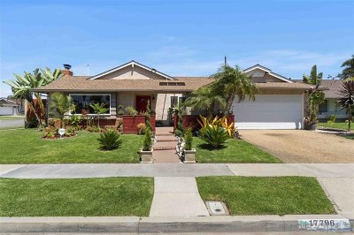 Fountain Valley Single Family Home For Sale: 17796 Elm St
