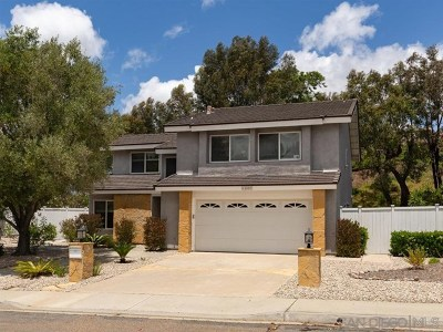 San Diego Single Family Home For Sale: 18007 Cotorro Road