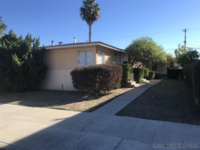 San Diego Multi Family Home For Sale: 4609 Campus Avenue