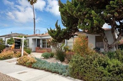 San Diego Multi Family Home For Sale: 925 Opal Street