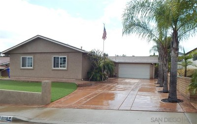 San Diego Single Family Home For Sale: 2118 Judson