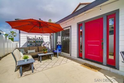 San Diego Single Family Home For Sale: 3548 Ethan Allen Ave