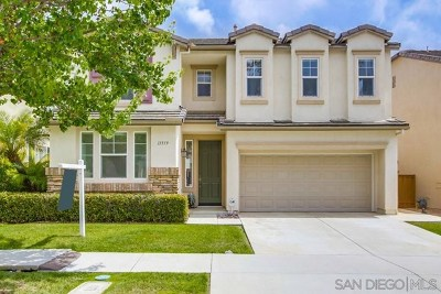 San Diego Single Family Home For Sale: 11519 Creekstone Ln