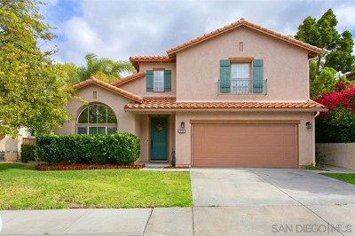 Oceanside Single Family Home For Sale: 4740 Aliso Way