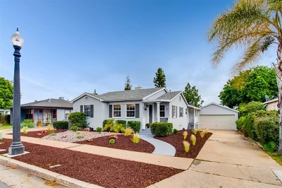 San Diego Single Family Home For Sale: 4787 51st St