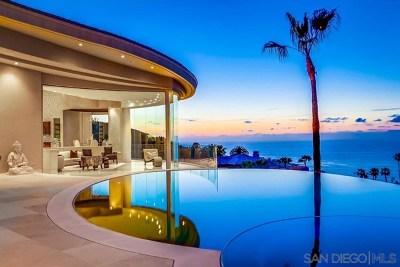 La Jolla Single Family Home For Sale: 7455 Hillside Drive