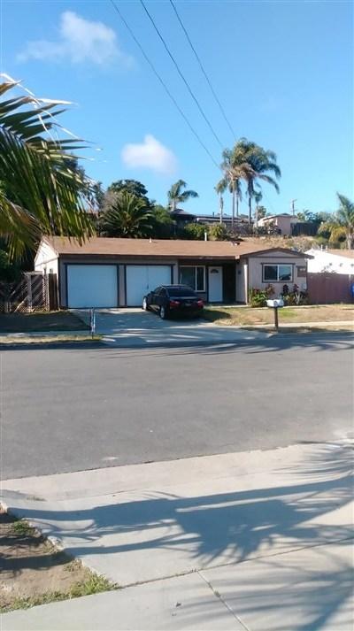 Oceanside Multi Family Home For Sale: 1506 N San Jose