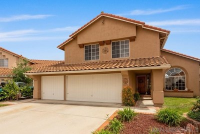 San Diego Single Family Home For Sale: 9471 Owl Ct.