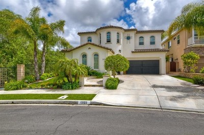 San Diego Single Family Home For Sale: 13122 Sunset Point Way