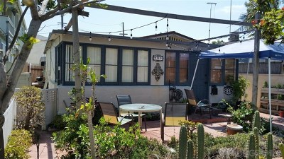 San Diego Single Family Home For Sale: 805 Ormond Court