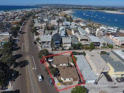 San Diego Multi Family Home For Sale: 2695 Mission Blvd
