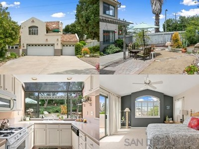Escondido Single Family Home For Sale: 629 Valley Grove Ln