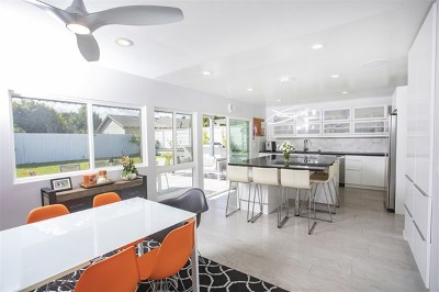 Del Mar Single Family Home For Sale: 13617 Calais Drive