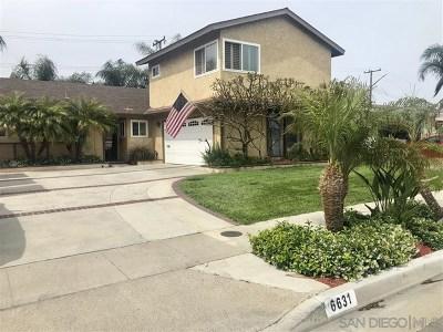 Huntington Beach Single Family Home For Sale: 6631 Oxford Dr
