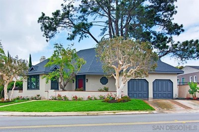 San Diego Single Family Home For Sale: 3361 Goldsmith St