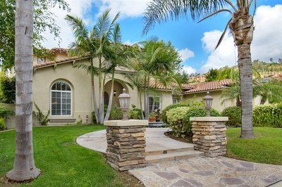 San Diego Single Family Home For Sale: 17150 Tallow Tree Lane