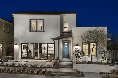 San Diego Single Family Home For Sale: 9032 West Bluff Place #Lot 201,