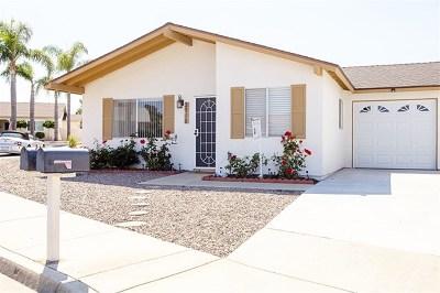 Oceanside Single Family Home For Sale: 3918 San Lorenzo Ct