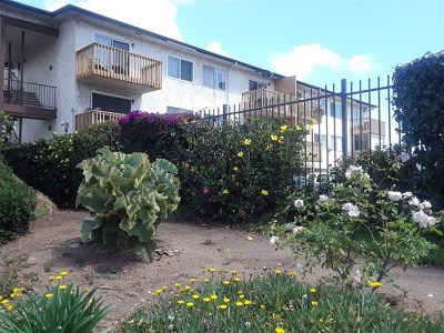 San Diego CA Condo/Townhouse For Sale: $275,000