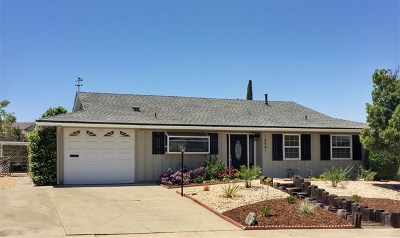 San Diego Single Family Home For Sale: 16414 Ramada Dr