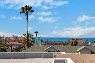 Imperial Beach Condo/Townhouse For Sale: 270 Dahlia Avenue #17
