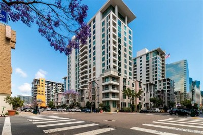 San Diego Condo/Townhouse For Sale: 425 W Beech St. #1003