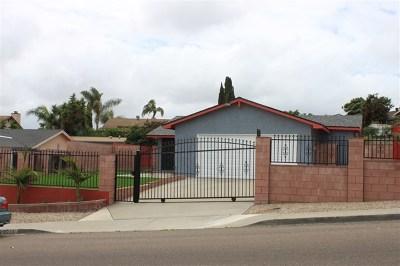 San Diego Single Family Home For Sale: 8715 San Vicente Street