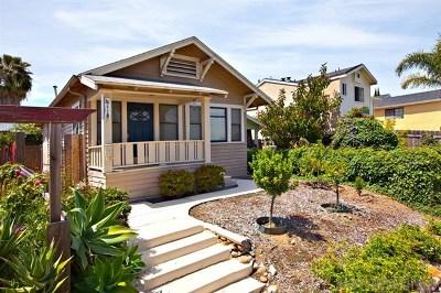 San Diego Single Family Home For Sale: 4118 Georgia St