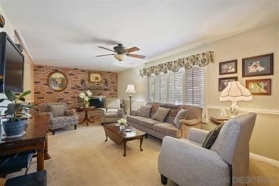El Cajon Single Family Home For Sale: 13933 Ridge Hill Rd.