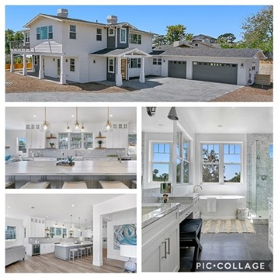 Encinitas Single Family Home For Sale: 438 Ocean View Terrace